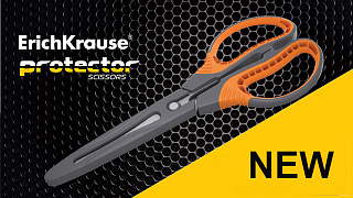New scissors ErichKrause® Protector
