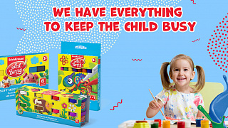 We have everything to help the child busy